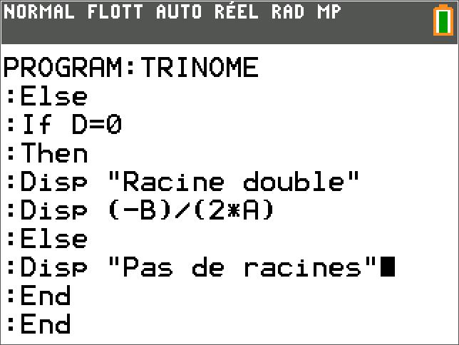 TRINOME Partie 2